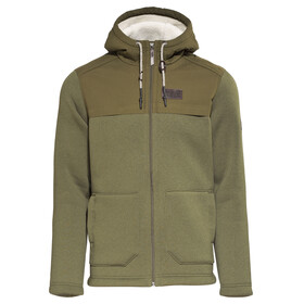 Jack Wolfskin Terra Nova F65 Hooded Jacket Men burnt olive